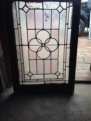Sg 187 Antique All Textured Glass Stainglass Window