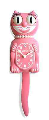 Strawberry Ice Pink Le Lady Kit-Cat Clock Kat Klock New For 2015 Limited Edition