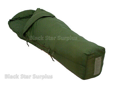 "Military MSS Green ""Patrol"" Sleeping Bag   30-50°  -Good Cond"