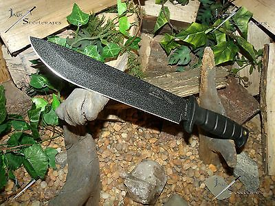Survival knife/Bowie/Licensed Army/MOLLE/Light-Medium duty/6MM/Hunting/Zombie