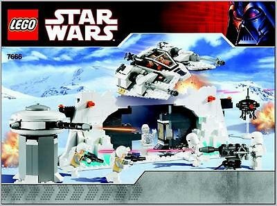 LEGO Star Wars - Rare Hoth Rebel Base 7666 - Complete with Box