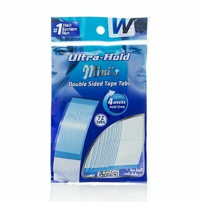 Walkers Ultra Hold Mini Tabs lace wig toupee hairpiece double sided tape strips