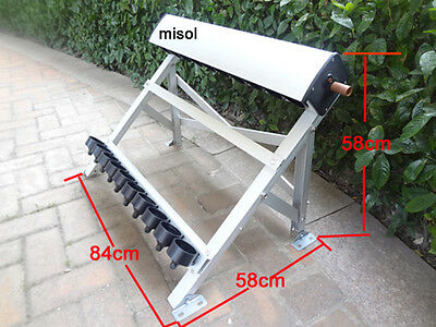 manifold (10 holes) with bracket for solar collector (tube 58*500mm), for solar