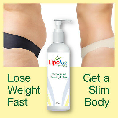 Lipoloss Thermo Active Sliming Lotion No Need To Diet Lose Weight Feel Great