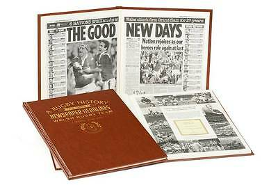 PERSONALISED NEWSPAPER History Book of WELSH RUGBY Gifts Present Memorabilia fan