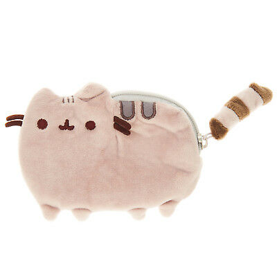 NEW OFFICIAL GUND Pusheen The Cat Plush Soft Coin Pouch / Purse 4048876