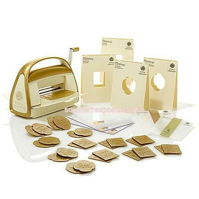 Anna Griffin Cuttlebug Embossing & Die-Cutting Machine + Mix & Match Embossing F
