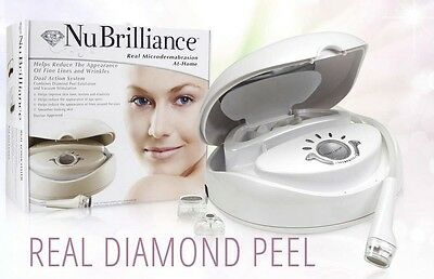 Nubrilliance Dual Action Microdermabrasion At-Home System