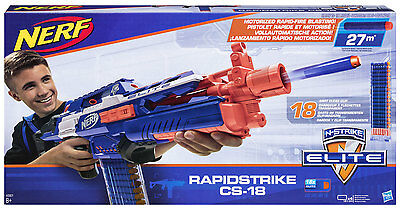 Nerf N-Strike Elite Rapidstrike + 18-Dart Clear Clip + 18 Elite Darts
