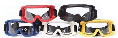 Rxt Goggle Senior Mx Clear Len Red In Colour