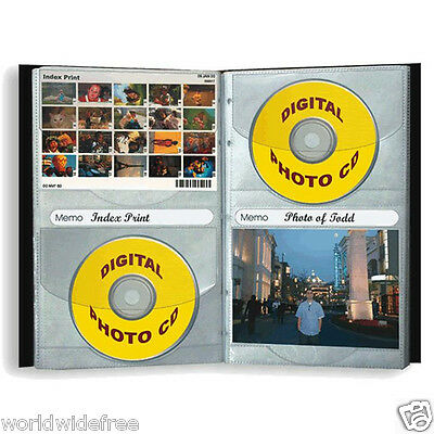 Pioneer 24-CDR CD/DVD Storage Refill Pages for CD-48 Leather CD Photo Album