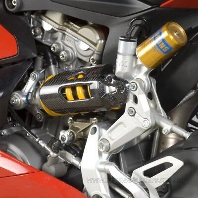 NEW R&G Carbon Federbein Abdeckung Ducati 959 / 1299 Panigale 2015- Shock Cover