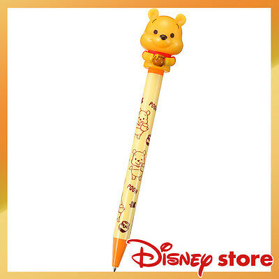 Japan Disney Store Winnie the Pooh Big Head Baby roller ball pen NEW