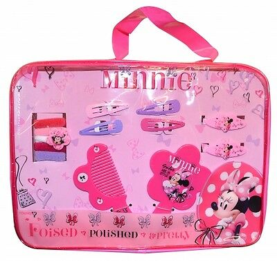 Disney Minnie Mouse Poised Pretty Hair Accessory Set Girls Accessories New Gift
