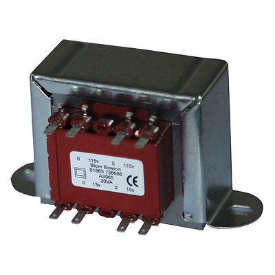 Mains Chassis Transformer 20VA Output UK Manufactured