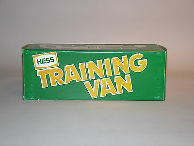 Hess 1980 Training Van Mint In The Box