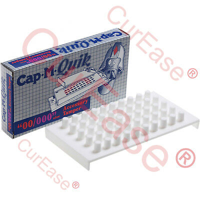 Cap M Quik TAMPER ONLY Accessory For Quick Capsule Filling Machine Size 00 & 000