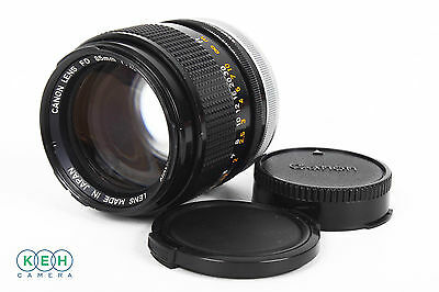 Canon 85mm f/1.8 SSC BL FD Mount Lens With Caps