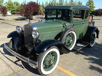 Ford : Model A coupe model A, coupe, rumbel seat, deluxe