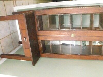antique mail sorter ....solid oak...ship available.