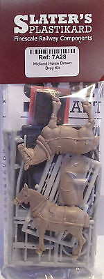 Slaters 7A28 - Midland Horse Drawn Dray - Plastic Kit 0 Gauge - Tracked 48 Post