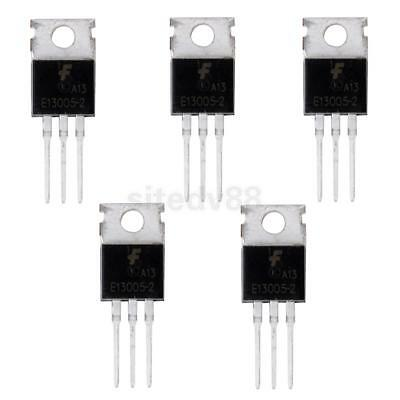 5pcs 13005A E13005 4A TO-220 NPN Power Transistor for Switching Power Supply