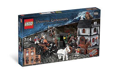 Lego 4193 Pirates of the Caribbean The London Escape - New