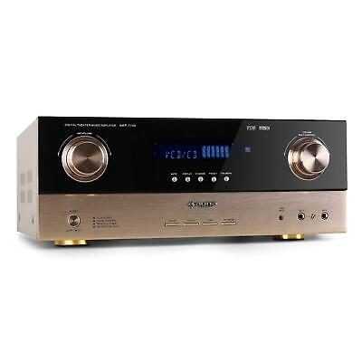 7.1 / 5.1 Audio Hifi Heimkino Av Verstärker Surround Receiver Radio Karaoke Amp