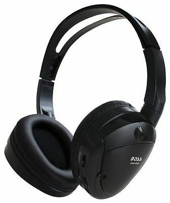 BOSS AUDIO HP32 Dual Channel Infrared Foldable Cordless Headphone BRAND NEW