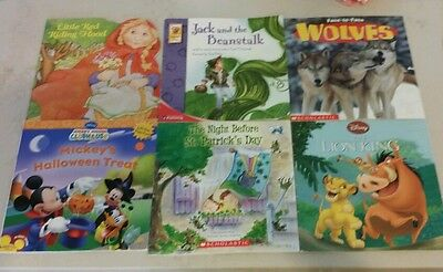 Children Kid Story Picture Books Mixed Lot of 6
