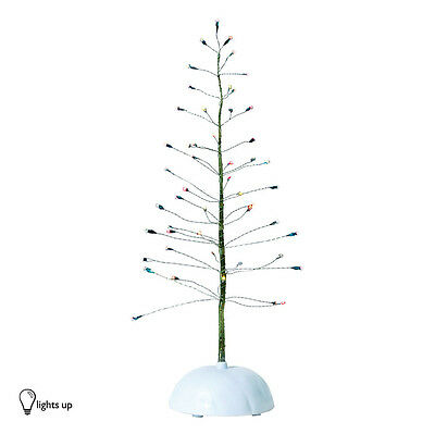 Dept 56 LIT TWINKLE BRITE TREE LARGE 52301 D56 NEW Village Light Up Accessory