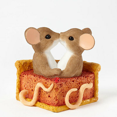 Charming Tails Sweetie Pie Thankful Mouse Mice 4041165 Figure Fall Autumn NEW