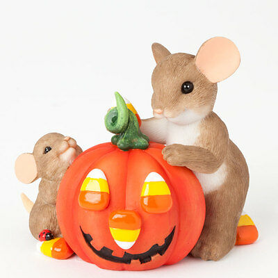 Charming Tails Nothing Sweeter My Little Pumpkin Halloween Fall 4041158 NEW