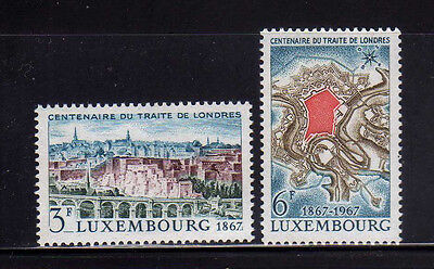 LUXEMBURGO/LUXEMBOURG 1967 MNH SC.447/448 Traty of London cent.
