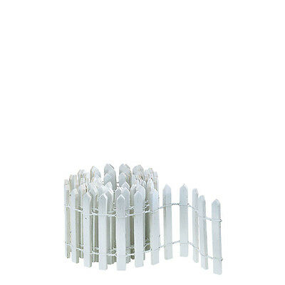 Dept 56 Snow Village White Snow Fence 52657  D56 NEW Christmas Village