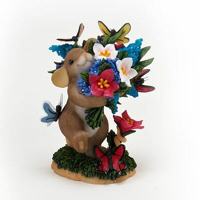 Charming Tail May Each Day Bring you Blossoms & Butterflies Mouse Figure 4020489