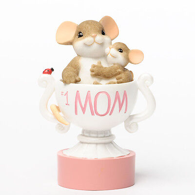 Charming Tails Mom You Are the Best Mouse Mice Figure 4035261 Mothers Day NEW