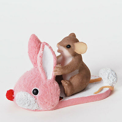 Charming Tails One Hoppy Little Sole Mouse Bunny Slipper 4025759 Figure NEW NIB