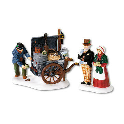 Dept 56 Dickens The Coffee Stall Accessory Set of 2 D56 Village NEW D56 DV 58571