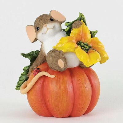 Charming Tails Your Friendship is Ripe for Picking Mouse Gourd NEW Fall 4034327