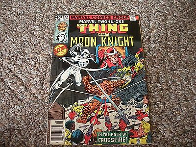 Marvel Two-In-One # 13 (1974 Series) FN/VF 1st app. Crossfire Early Moon Knight