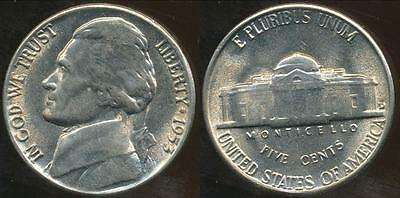 United States, 1953-D 5 Cents, Jefferson Nickel - Uncirculated
