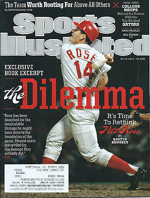 Sports Illustrated Magazine - March 10, 2014 - Pete Rose