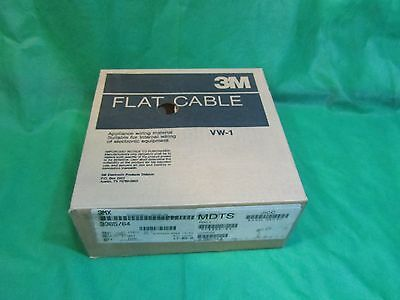 3M 3365/64 Style 2651 28 AWG 300V 64C 0.05 Pitch Flat cable, 100 ft.