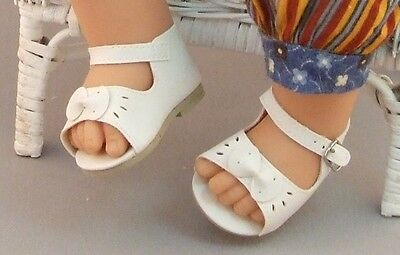 FAT Baby Doll Sandals for Horsman JODY SOFTEE, other Vintage Dolls