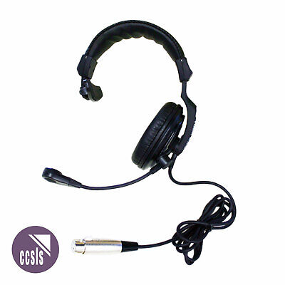 Jands Ehs1 Single- Muff Communications Headset With 4-Pin Female Xlr Connection