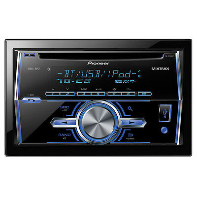 Pioneer FH-X700BT Double Din Bluetooth Car Stereo USB/AUX input iPod/iPhone