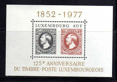 LUXEMBURGO/LUXEMBOURG 1977 MNH SC.603  Lux.Stamps 125th
