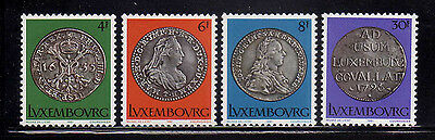 LUXEMBURGO/LUXEMBOURG 1981 MNH SC.651/654 Silver Coins