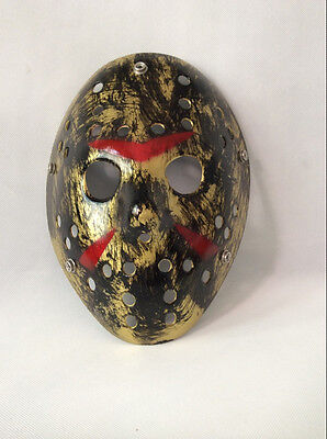HOT!Friday the 13th Jason Voorhees VINTAGE STYLE MASK HOCKEY HALLOWEEN MASK
